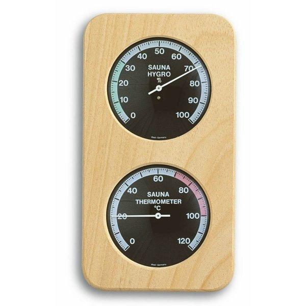 TFA 40.1004 termohigrometr do sauny czujnik temperatury i wilgotności mechaniczny 2 x 86 mm