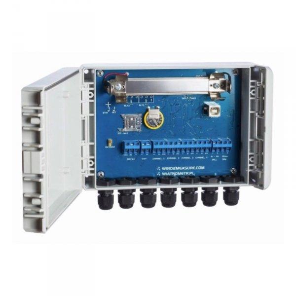 PM Ecology RADIO rejestrator danych 8-kanałowy moduł transmisyjny GPRS/GSM profesjonalna stacja meteorologiczna