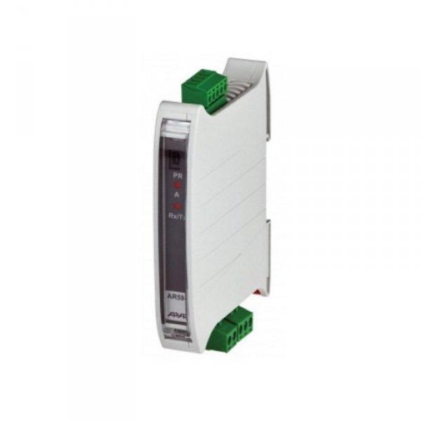 APAR AR594 moduł pomiarowy temperatury termometr przemysłowy na szynę DIN wejście uniwersalne wyjście RS485 Modbus z separacją galwaniczną