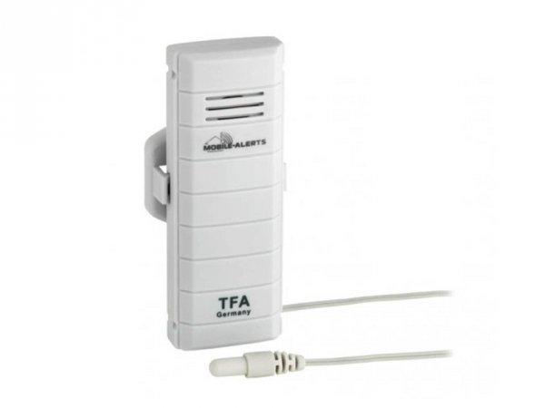 Czujnik temperatury bezprzewodowy TFA 30.3301 z wodoszczelną sondą zewnętrzną WeatherHub