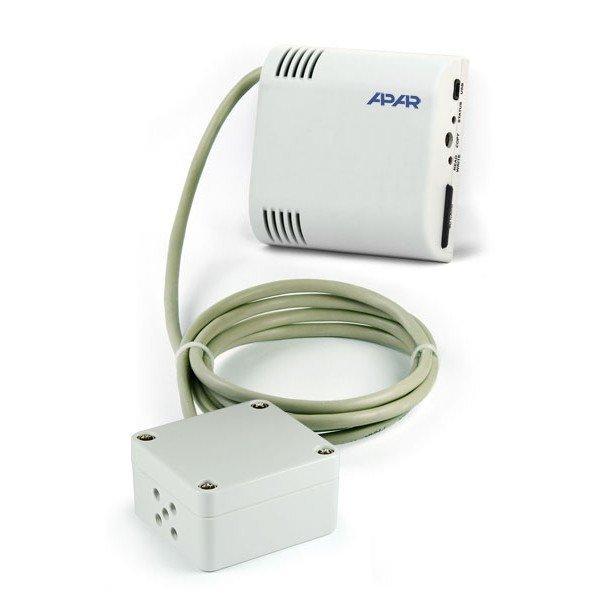 APAR AR231 rejestrator temperatury przemysłowy termometr wewnętrzny naścienny