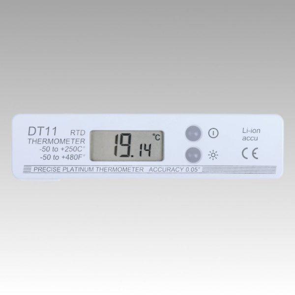 Termometr szpilkowy składany DT-11 elektroniczny Pt1000 kieszonkowy