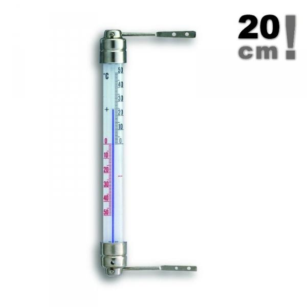 TFA 14.5000 termometr okienny klasyczny cieczowy zewnętrzny metalowy