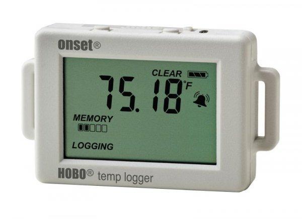 Rejestrator temperatury HOBO UX100-001 data logger termometr wewnętrzny