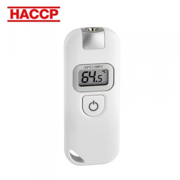 Termometr bezkontaktowy pirometr TFA 31.1128 SLIM FLASH do żywności