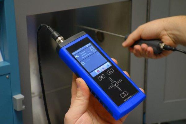 Lufft XP100 miernik temperatury Pt100 przemysłowy ręczny termometr termomrezystancyjny przenośny profesjonalny