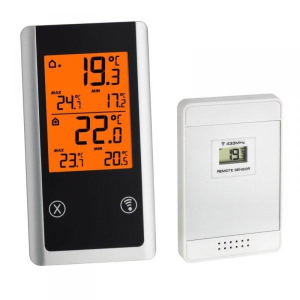 TFA 30.3055 JOKER termometr bezprzewodowy z czujnikiem zewnętrznym