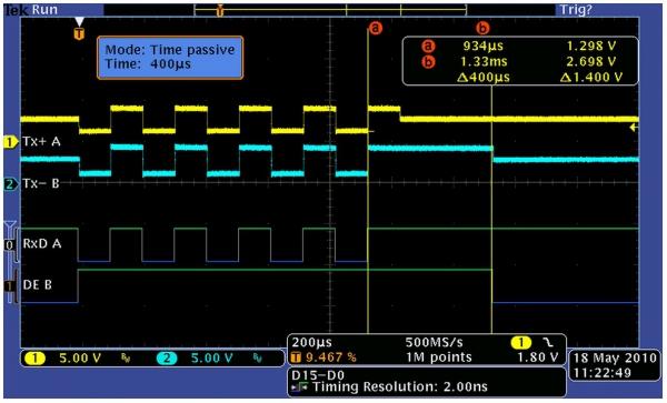 Papouch CQ485 wzmacniacz sygnału RS485 i RS422 konwerter sygnału RS485 do RS422 regenerator sygnału izolator galwaniczny