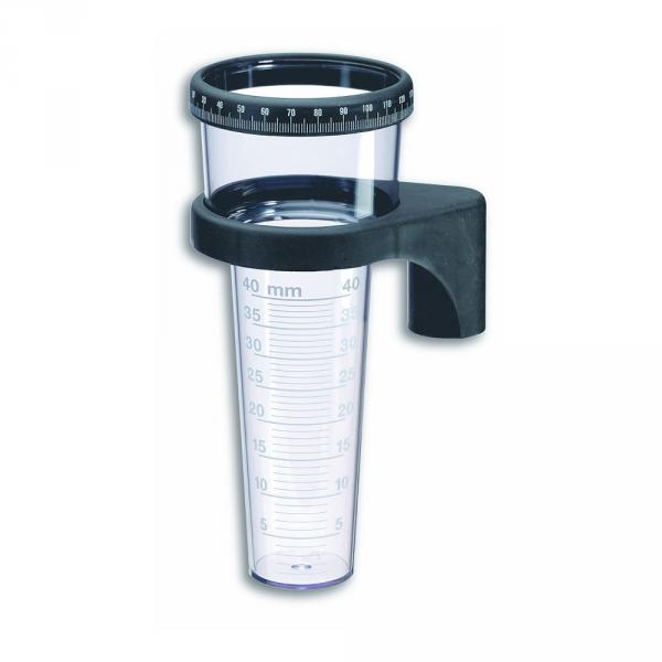 TFA 47.1001 deszczomierz manualny plastikowy 40 mm z pierścieniem rejestrującym