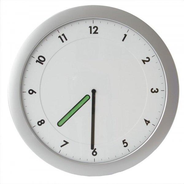 TFA 60.3027 HAPPY HOUR zegar ścienny wskazówkowy kolorowa wskazówka 28 cm