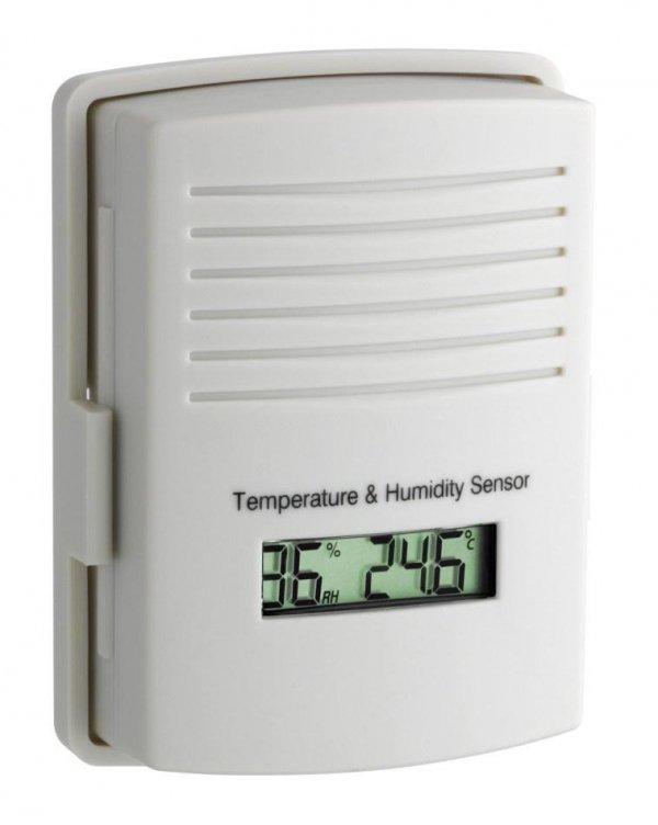 Czujnik temperatury i wilgotności TFA 30.3166 bezprzewodowy