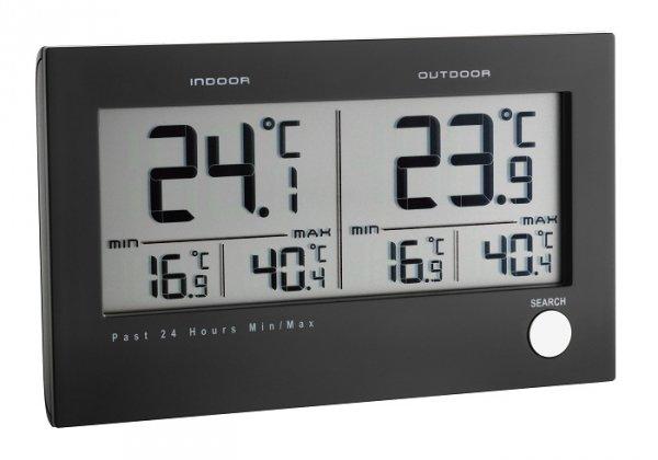 TFA 30.3048 TWIN termometr bezprzewodowy z czujnikiem zewnętrznym