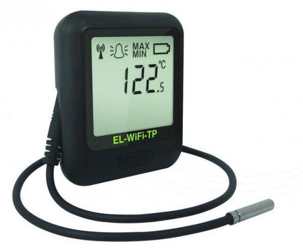 Corintech EL-WiFi-TP+ data logger WiFi, IP, Ethernet rejestrator temperatury internetowy  z sondą termistorową