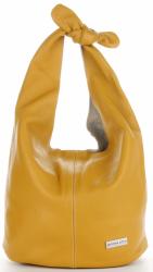 Torebka Skórzana VITTORIA GOTTI Made in Italy V693658 Żółta