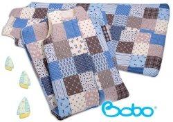 Śpiworek dla dziecka od 4 do 7 lat patchwork