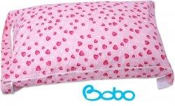 Pokrowiec na śpiworek różowe serduszka