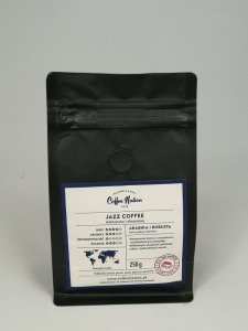 JAZZ COFFEE 250g   Arabika+Robusta