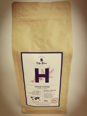 HOUSE COFFEE  1000g  Arabika+Robusta