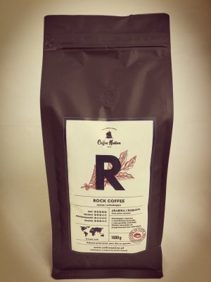 ROCK COFFEE 1000g- Arabika+Robusta