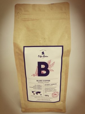 BLUES COFFEE  1000g Arabika+Robusta