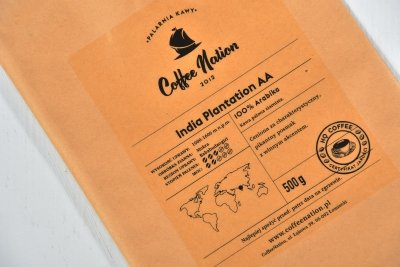 INDIA PLANTATION AA 250g - 100% Arabika