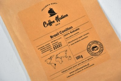 BRASIL CONILLON 500g  -100% Robusta