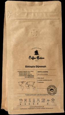 ETHIOPIA DJIMMAH 250g  -100% Arabika