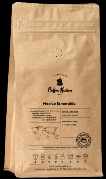 MEXICO ESMERALDA 1000g  -100% Arabika