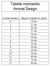 ANIMAL DESIGN Derka FLASH zielono-czarna rozmiar 08 42cm