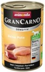 Animonda Gran Carno Sensitiv Indyk 400g