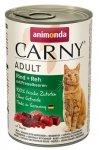 Animonda Carny Cat Adult Wołowina, dziczyzna + borówka puszka 400g