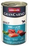 Animonda GranCarno Adult Lachs Spinat Łosoś + Szpinak 400g
