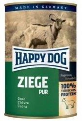 6x Happy Dog Ziege Puszka 100% Koza 400g