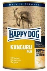 12x Happy Dog Kaenguru Puszka 100% Kangur 400g