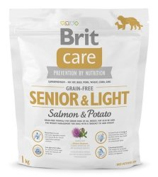 Brit Care Senior & Light Salmon and Potato 1kg