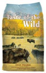 Taste of the Wild High Prairie Canine z mięsem z bizona 13kg