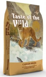 Taste of the Wild Canyon River Feline z pstrągiem i łososiem 2kg