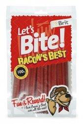 Brit Care Let's Bite Dog Bacon's Best 105g