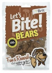 Brit Care Let's Bite Dog Bears 150g