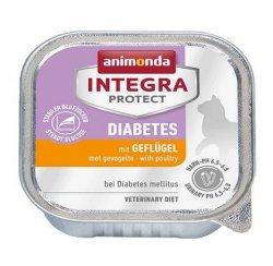 Animonda Integra Protect Diabetes dla kota - z drobiem tacka 100g
