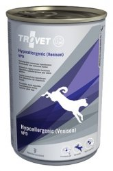 Trovet VPD Hypoallergenic Dziczyzna dla psa puszka 400g