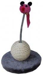 Yarro Drapak Mini Myszka różowo-szary 18x12x18cm [Y1142]