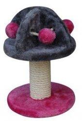 Yarro Drapak Mini Grzybek różowo-szary 20x20x29cm [Y1150]