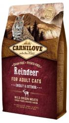 Carnilove Adult Cat Reindeer Energy & Outdoor 2kg