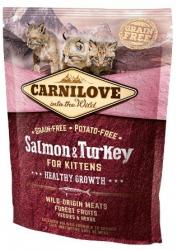 Carnilove Kitten Cat Salmon & Turkey 400g