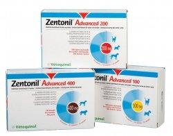 Vetoquinol Zentonil Advanced 400mg 30 kaps.