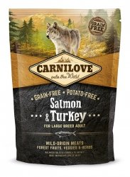 Carnilove Salmon & Turkey Large Breed Adult 1,5kg