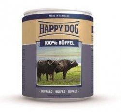12x Happy Dog Buffel Puszka 100% Bawół 800g