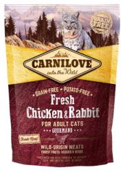 Carnilove Adult Cat Fresh Chicken & Rabbit Gourmand 400g