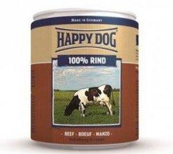 12x Happy Dog Rind Puszka 100% Wołowina 200g